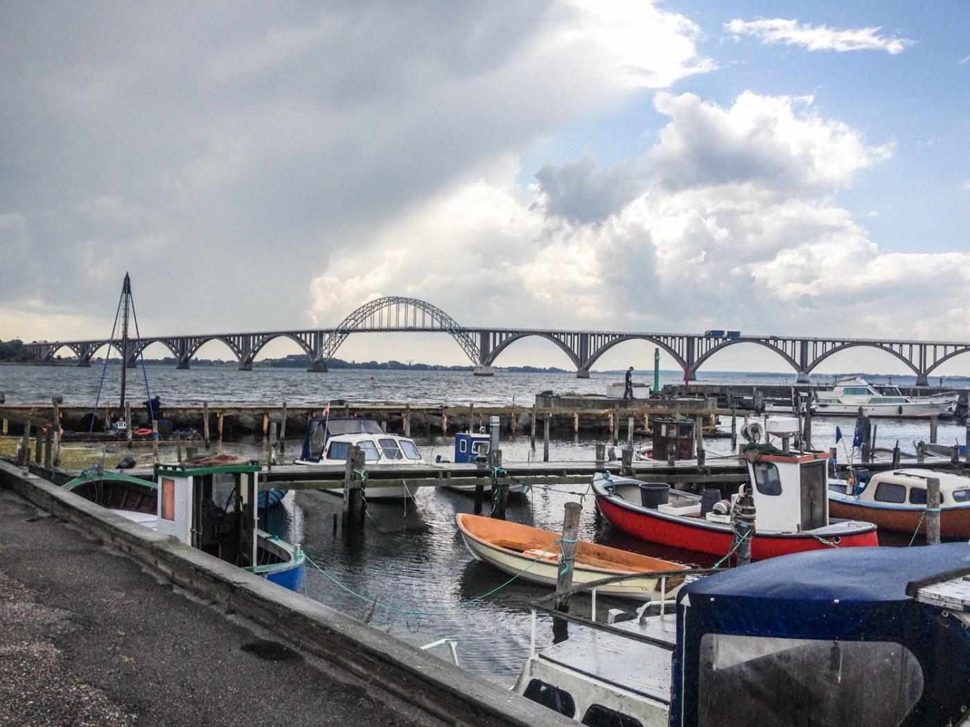Denmark harbour boat