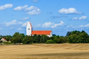 Denmark church countryside independentpeople