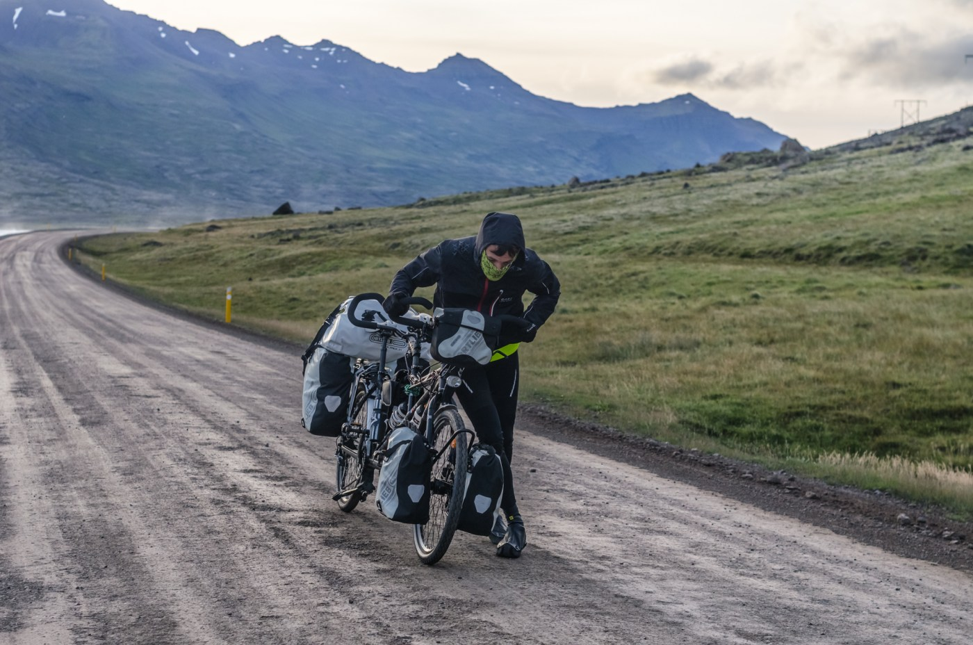independent people how to cycle in iceland tandem bike road