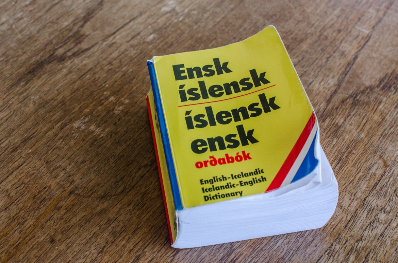 iceland dictionary icelandic