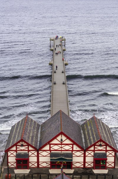 Saltburn-by-the-Sea, our new home.