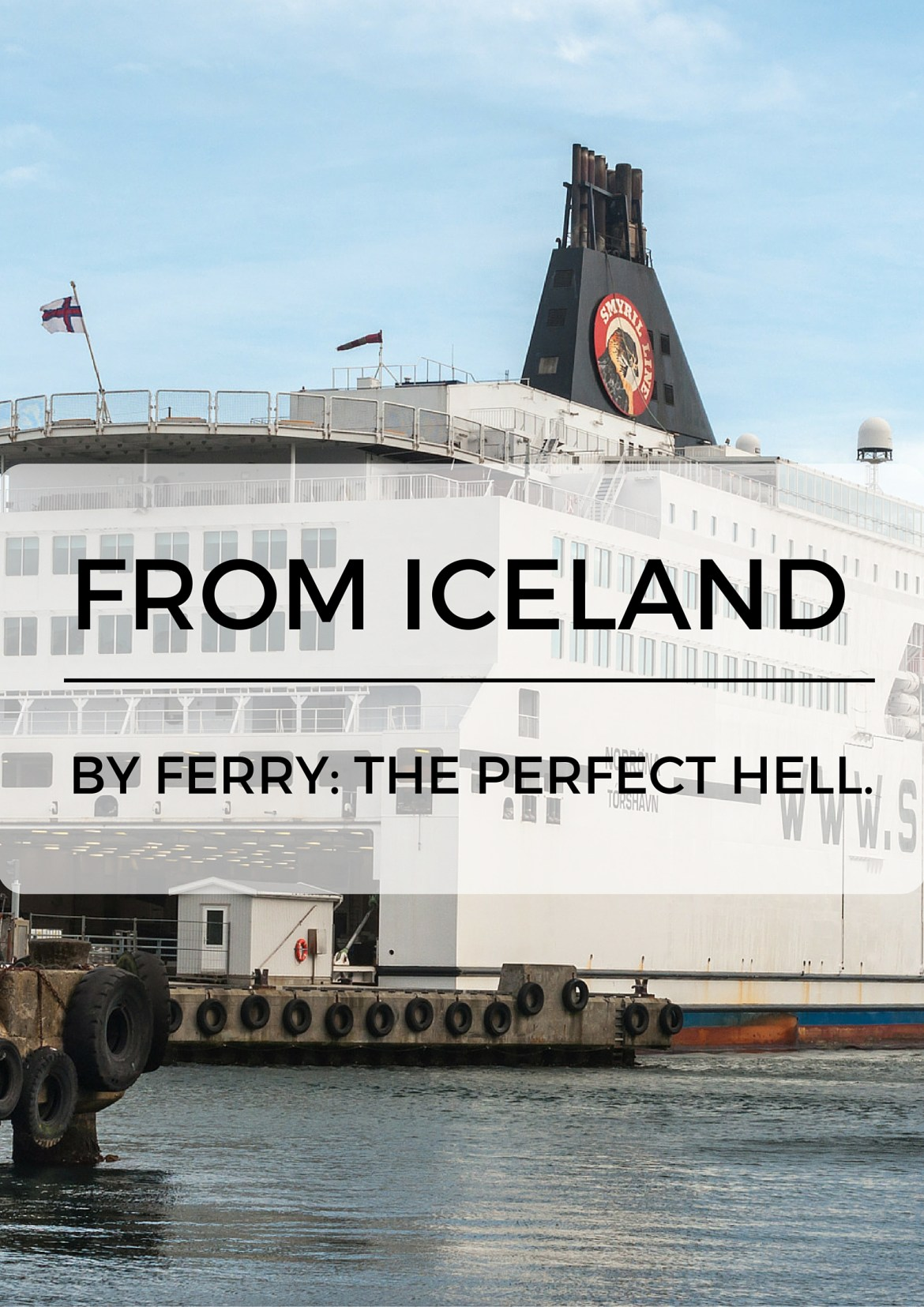 From Iceland to Denmark by Ferry