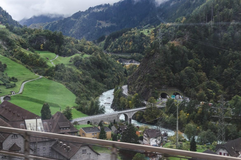 InterRail Train Itinerary: Switzerland