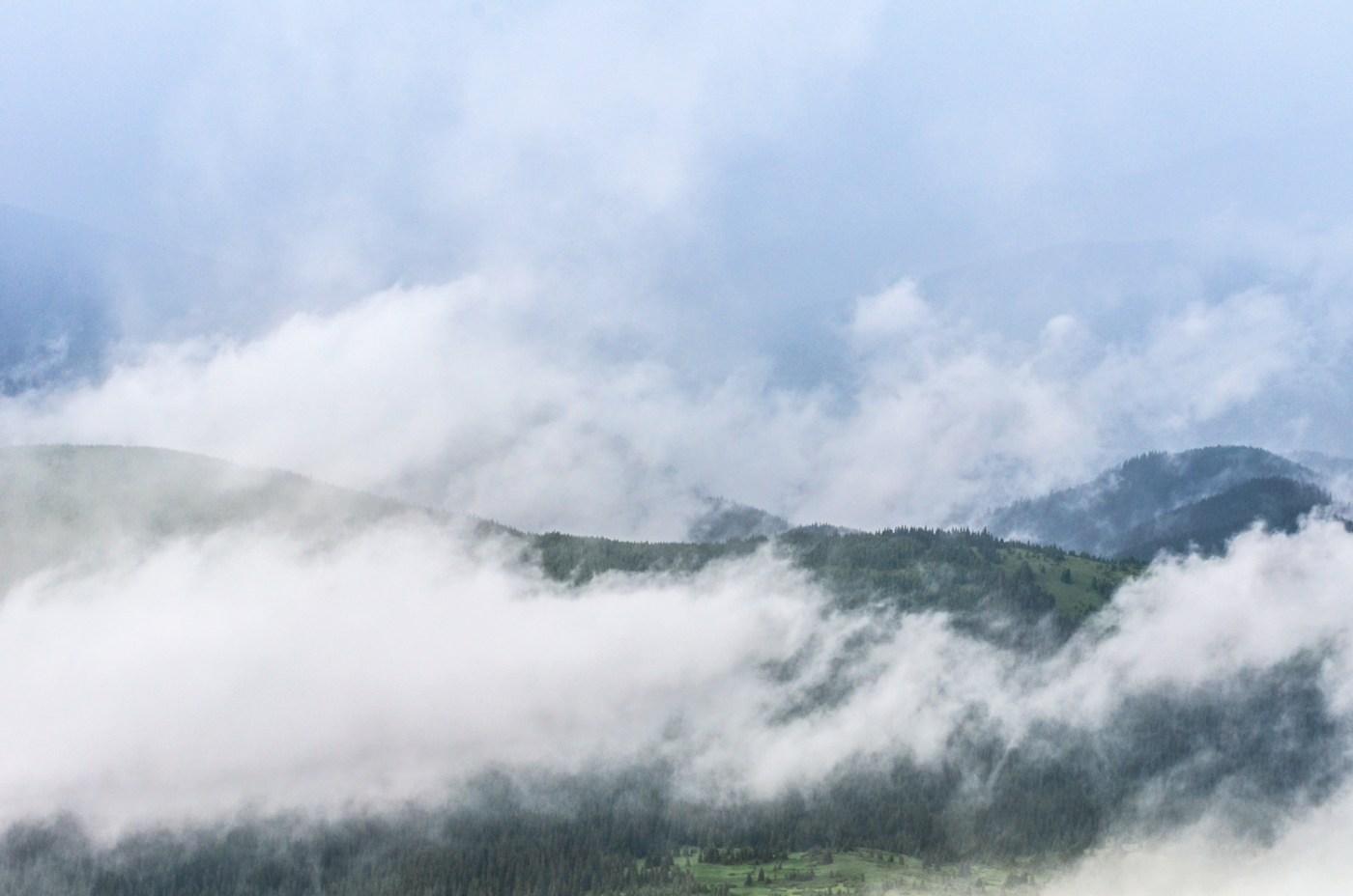 The Carpathian Mountains in Ukraine
