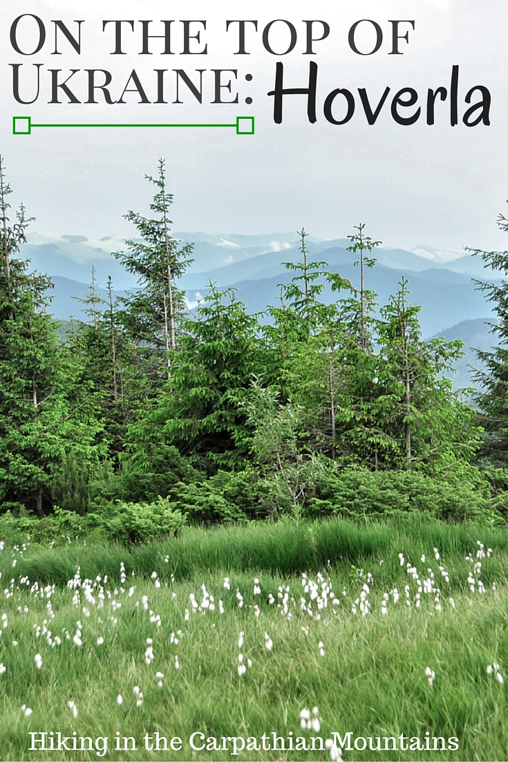On the top of Ukraine Carpathians: Hoverla