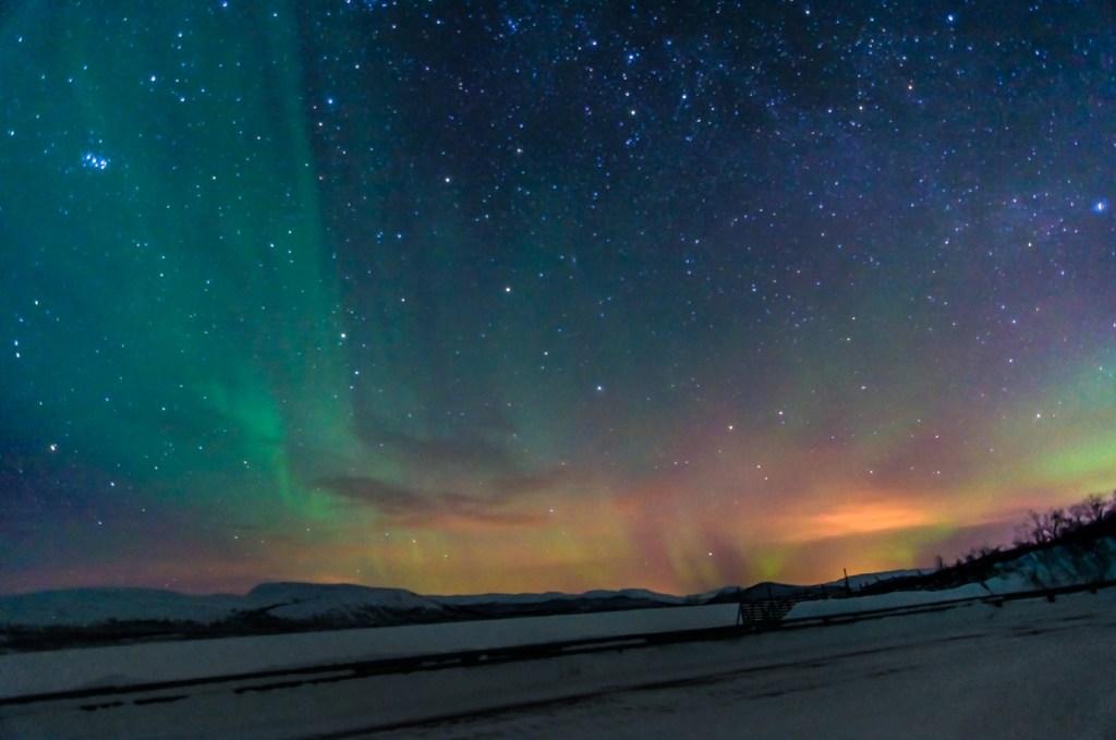 Northern Lights/ Aurores Boréales