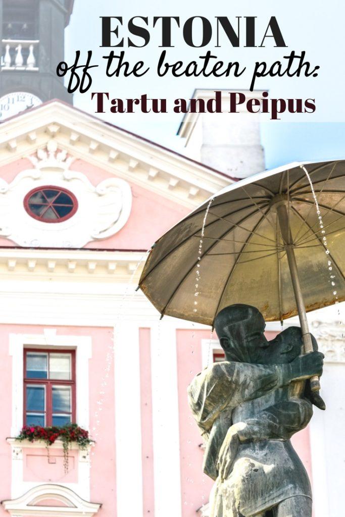 Estonia of the beaten path: Tartu and Peipus