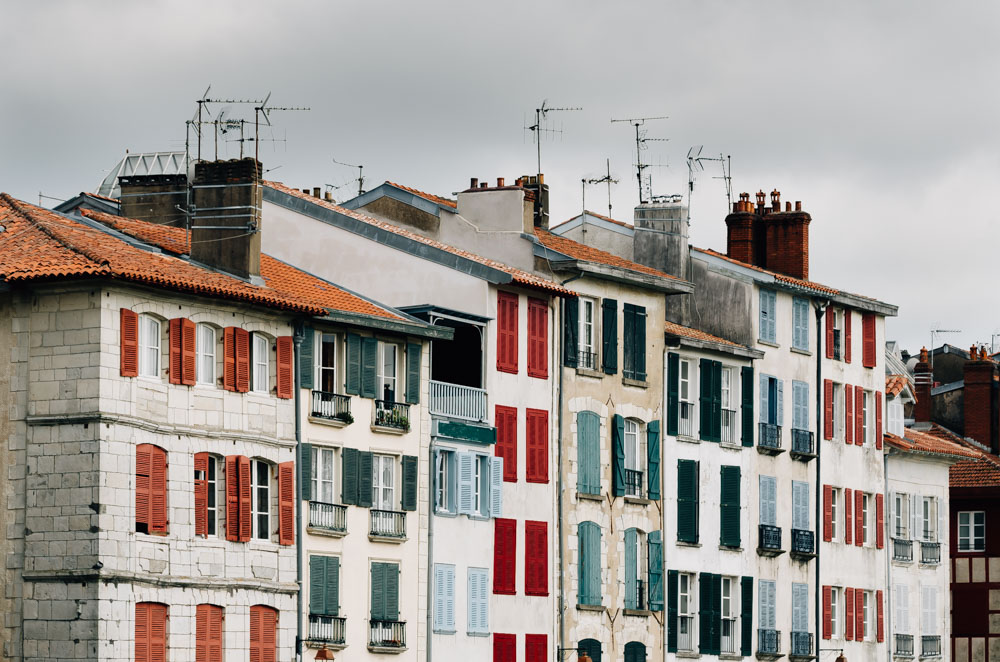basque country south west bayonne houses