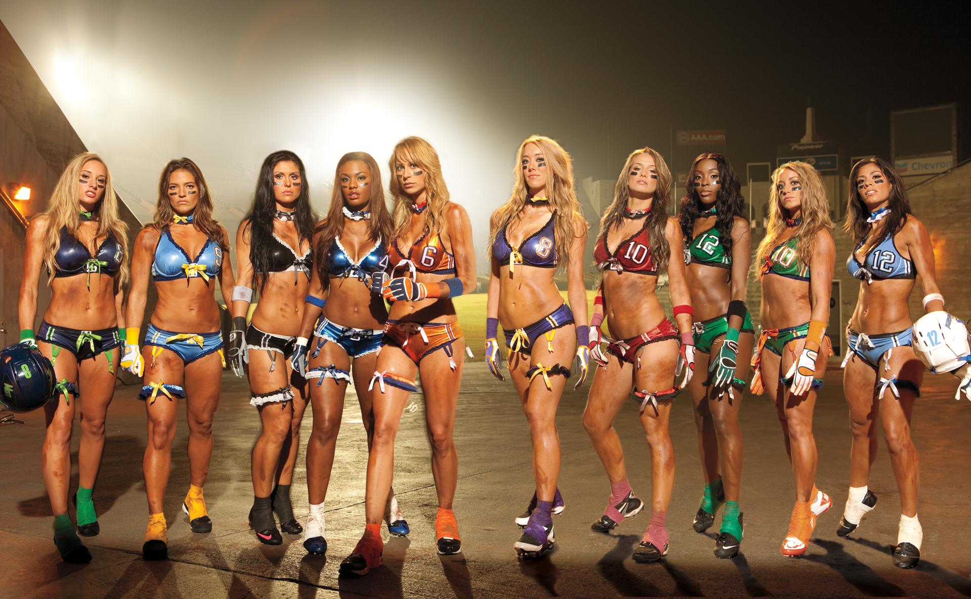 Lingerie football league women nude can