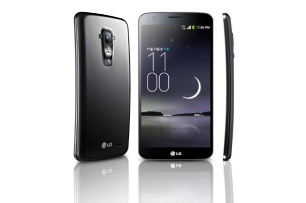 LG F FLEX phone