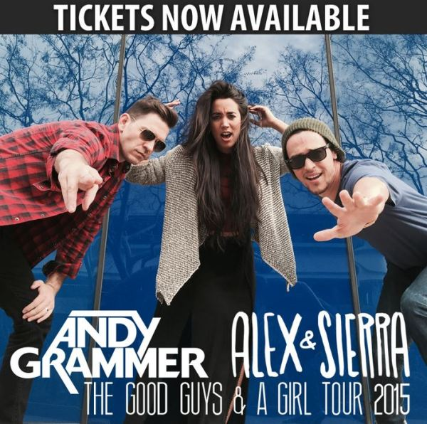 The Good Guys and A Girl Tour 2015 2