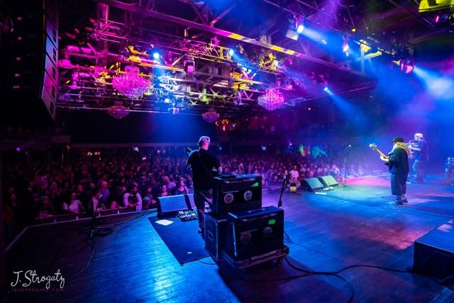 Lettuce performs live on stage at the Fillmore in Philadelphia. Photo by Jen Strogatz, jenstrogatz.com