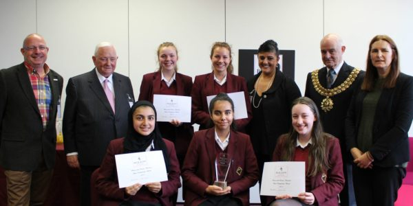 Bolton School Girls' Division Host First Business Competition