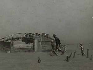 Soil erosion, USA, 1935