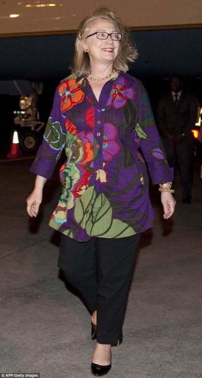 hillary fashion