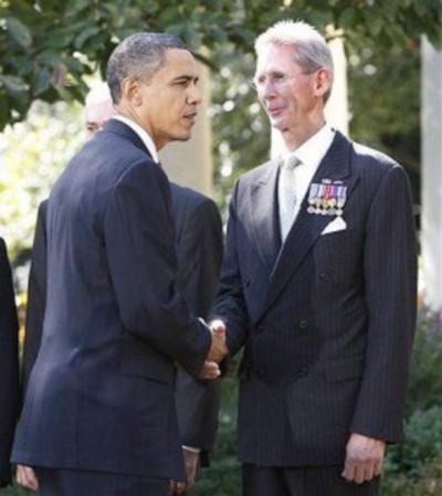 John Poindexter, honored by Barack Obama
