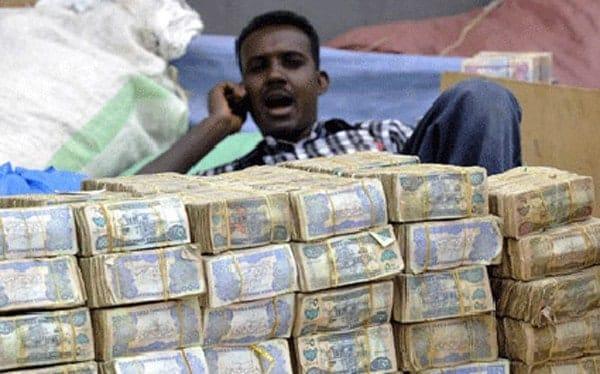 Somali money changer
