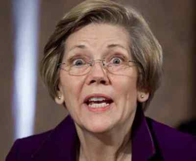 file photo of unhinged Elizabeth Warren