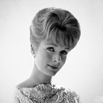 A young Debbie Reynolds, taken from her twitter page.