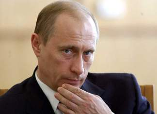 Russian President Vladimir Putin in a file photo.