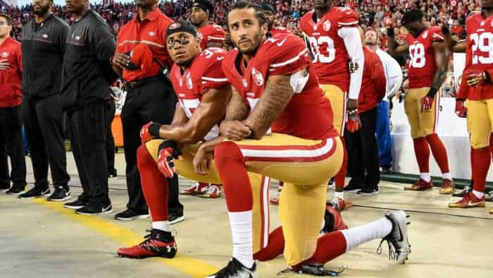 Kaepernick calls for riots, Twitter fails to slam it with a public interest notice