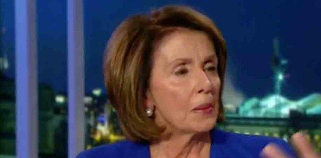 "Nancy Pelosi Promises to Get Rid of the ""Dark Cloud"" of Tax Cuts"