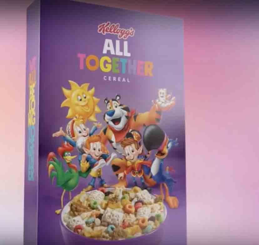 Kellogg's Cereal Launches Bizarre LGBTQIA Cereal For The
