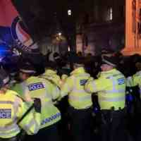 London Now! Antifa Fascists Are Rioting in London Over the Election