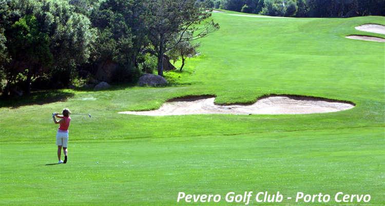 Sport in Costa Smeralda Pevero Golf Club Porto Cervo