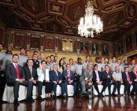 Independiente recibió condecoración de la Presidencia