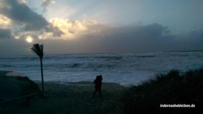 Samoa bei Sturm