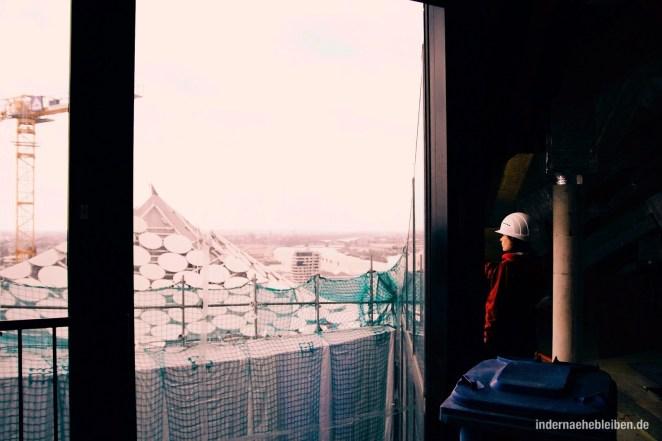 Dachkonstruktion Elbphilharmonie