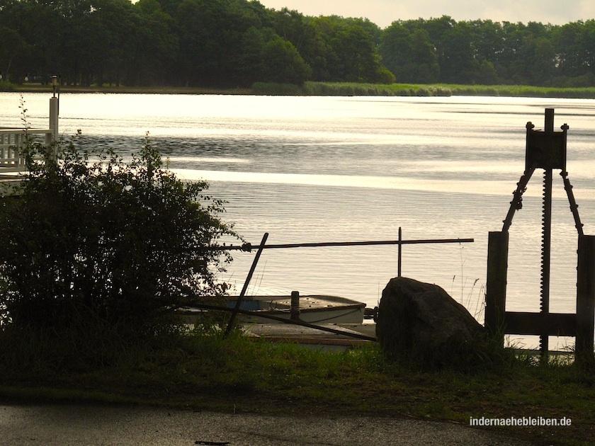 Und zwischen den Meeren liegt eine Mühle am See