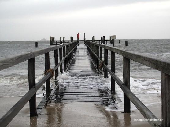 Steg Strand Wyk
