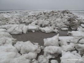 Eisschollen im Watt