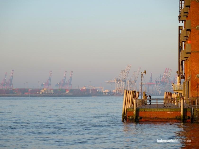 Morgens in Hamburg