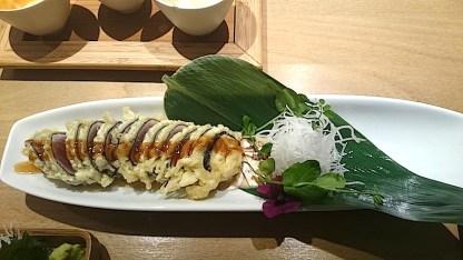 Sashimi-gebacken