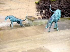 Skulptur Hund