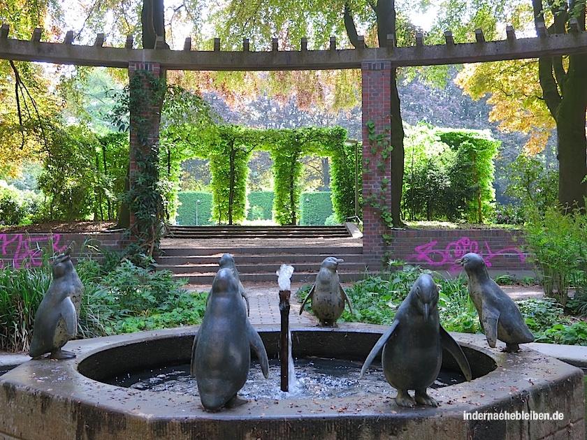 Pinguin-Brunnen