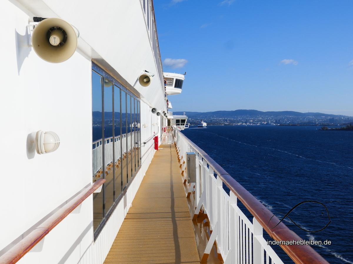 Schiffsmeldung: auf Mini-Kreuzfahrt von Kiel nach Oslo