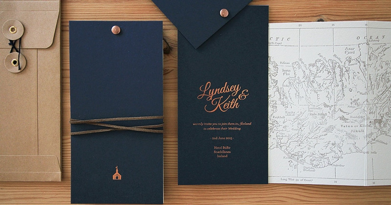 Custom Embossed Invitations