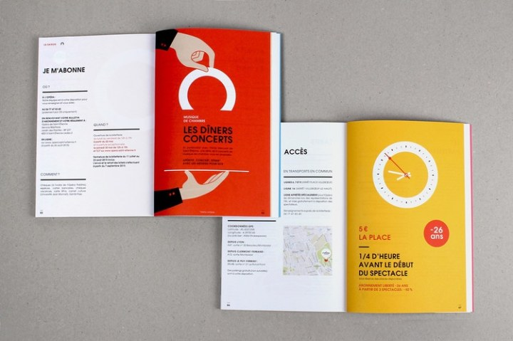 The Best Catalogue Designs   Get Inspired Now     catalogue booklet lookbook design layout inspiration marketing catalogue  catalog programme events saint etienne opera house