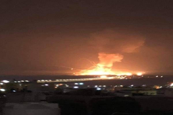 انفجار كبير يهز محافظة الزرقاء الأردنية