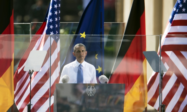 Is Barack Obama committed to transparency? (pic Gonçalo Silva/Demotix)