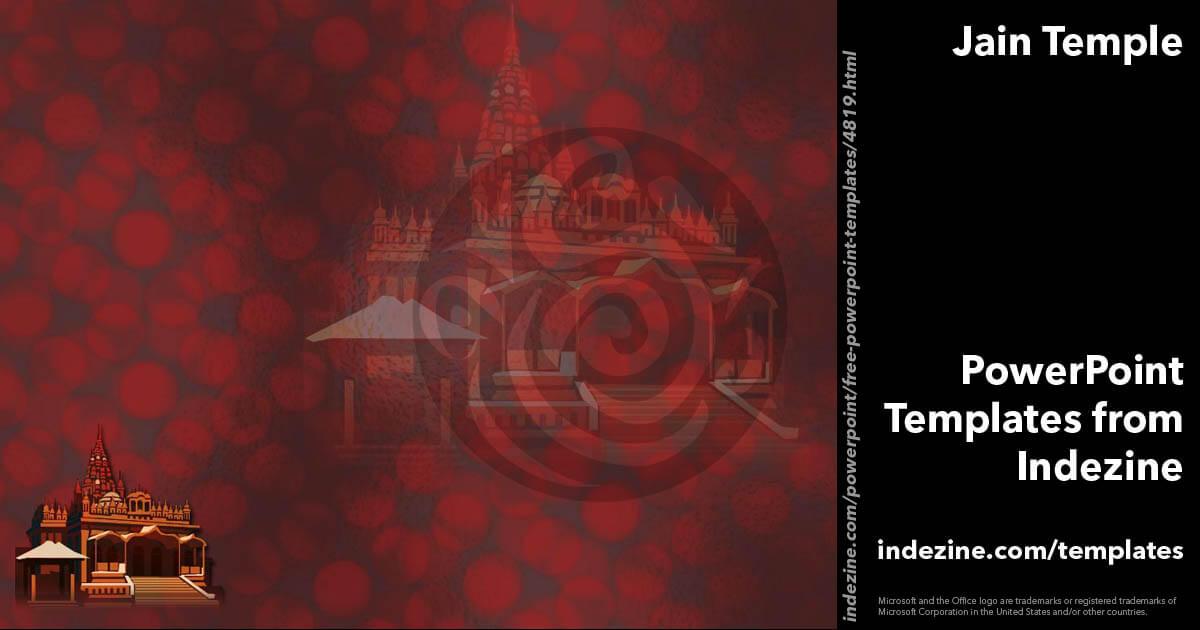 Jain Temple 01 Powerpoint Template