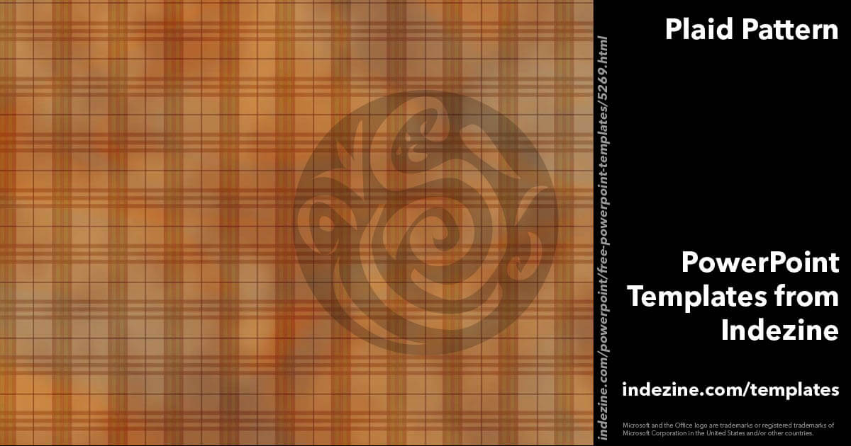 Plaid Pattern 01 PowerPoint Template