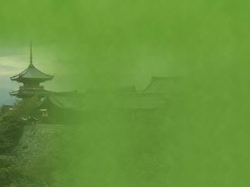 Buddhist Temple 04 Powerpoint Templates