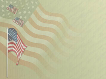 American Flag Day 04 PowerPoint Templates