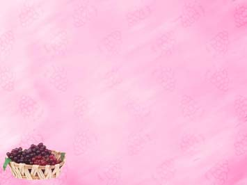 Grapes 01 PowerPoint Template