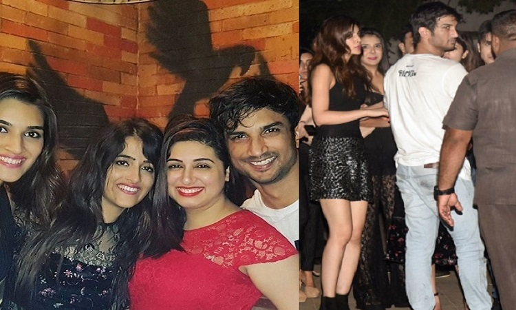 Sushant Singh Rajput plays a perfect host at Kriti Sister's ...